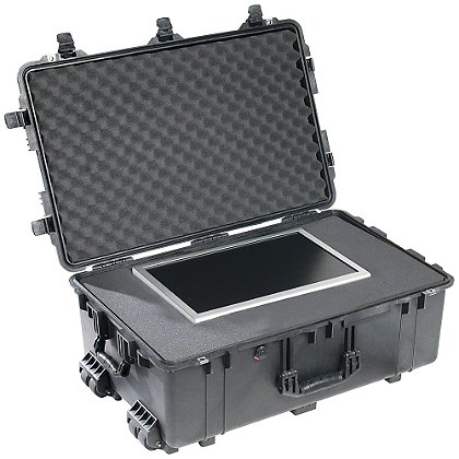 Pelican TrekPak Large Protector Case, Model 1650TP, Black