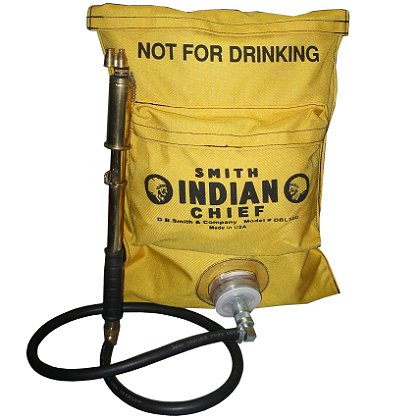 Smith Indian Fire Pump, Chief 5-Gallon Heavy-Duty Dual Bag Nylon Fire Pump