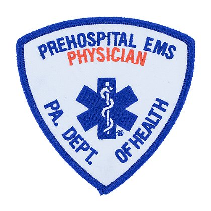PA Dept. of Heath Prehospital EMS Physician