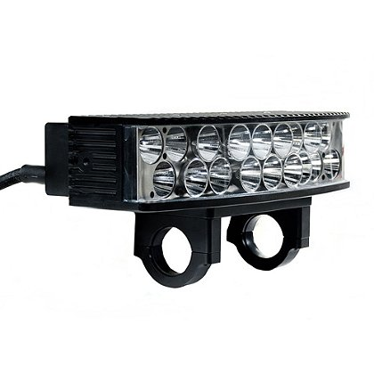 FoxFury Sunbolt Riot LED Vehicle and Security Searchlight, 12V DC, 12000 Lumens, Vehicle or Wall Mounted