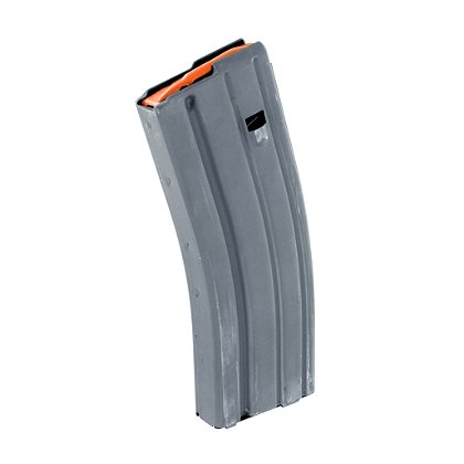 ASC .223 / 5.56 mm 30 Round Magazine, Aluminum, Grey Finish, Anti-Tilt Follower