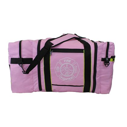 TheFireStore Jumbo Firefighter Gear Bag, Pink