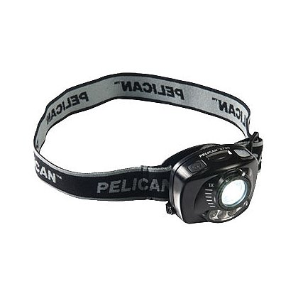 Pelican 2720 LED Headlight with Gesture Activation Control, 3 AAA Batteries, 200 Lumens