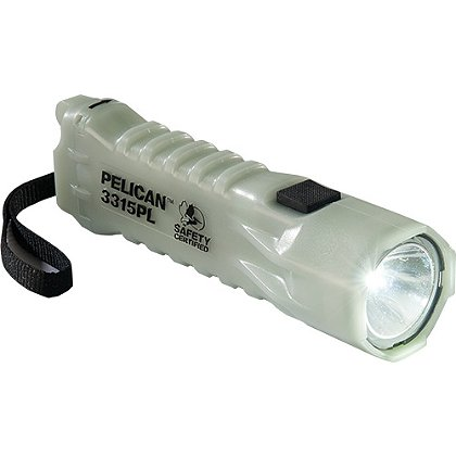 Pelican 3315PL LED Safety Certified Light, 160 Lumens, 6.14