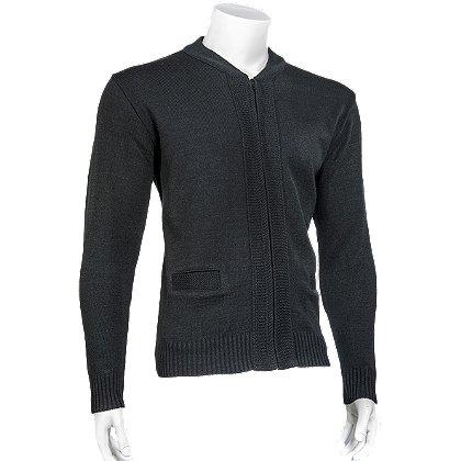 Cobmex Zip Front Cardigan Sweater, 100% Durapil™ Acrylic