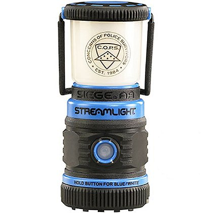 Streamlight C.O.P.S. Siege AA Blue Lantern