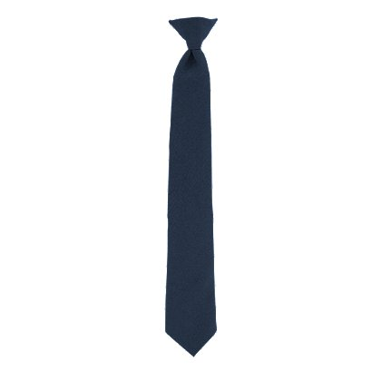Samuel Broome: Men's Poly/Wool, Clip-On Tie