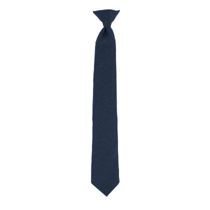 Samuel Broome Men's Poly/Wool, Clip-On Tie