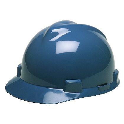 MSA V-Gard Slotted Safety Helmet