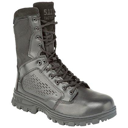 """5.11 Tactical EVO 8"""" Boot, Side Zip, Black"""