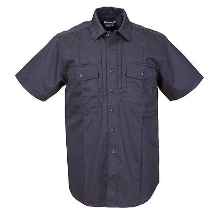5.11 Tactical Men's Station Non-NFPA Class B Short Sleeve Shirt, Fire Navy