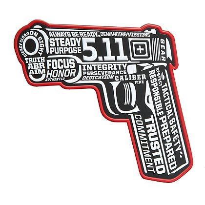 5.11 Tactical 45 Words or Less Patch