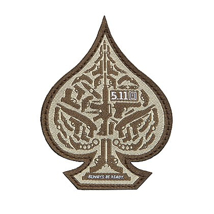 5.11 Tactical Spade Patch