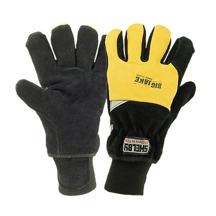 5281 Cowhide Structural Gloves with CROSSTECH, Wristlet, NFPA