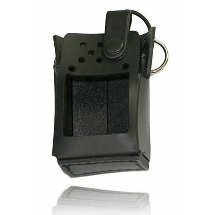 Boston Leather Firefighter's Radio Holder For ICOM F50 / F60