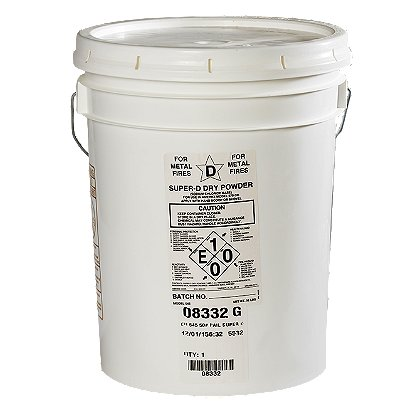 Amerex Super D (Sodium Chloride) 50 lb pail, for Amerex Models B570 & 680