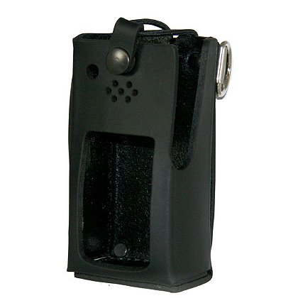 Boston Leather Radio Holder for Kenwood NX320
