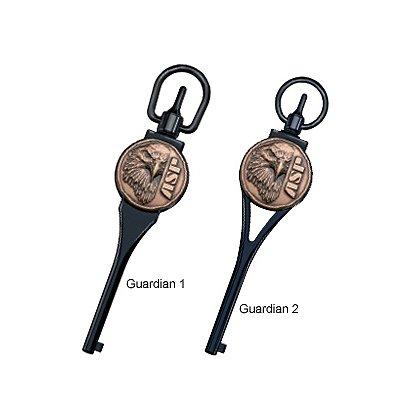 ASP Guardian Logo Handcuff Key, Black