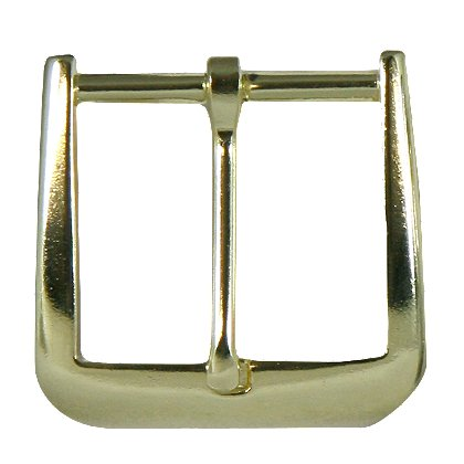 Boston Leather Gold Buckle for 1 1/2