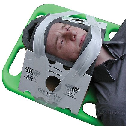 Boundtree Medical Hoover Head Immobilizer
