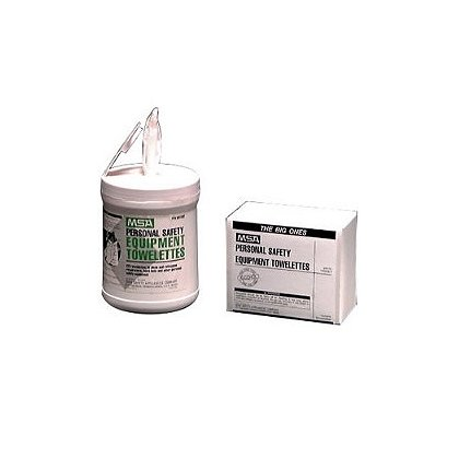 MSA Personal Safety Equipment Towelette Wipes