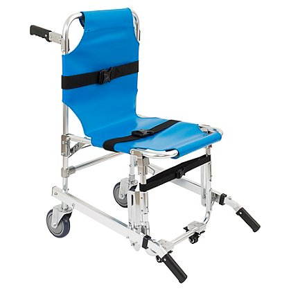 theEMSstore Stair Chair with Four Wheels, Blue
