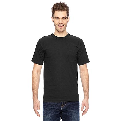 Bayside Short Sleeve T-Shirt with Pocket