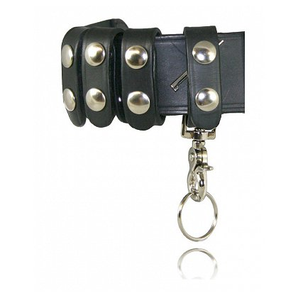 Boston Leather Deluxe Belt Keeper Combo Pack