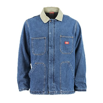 Dickies Quilt Lined Denim Chore Coat