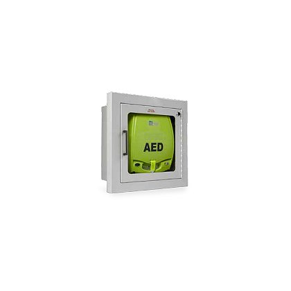 Zoll Fully Recessed Wall Cabinet for AED Plus