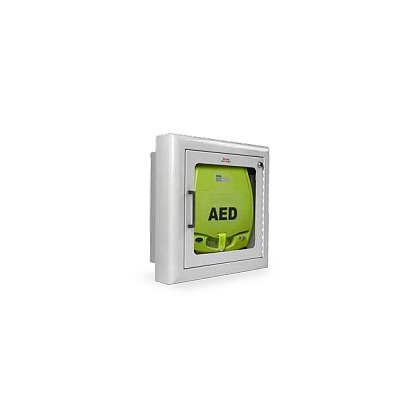 Zoll Semi Recessed Wall Mount Cabinet/Alarm Wall Cabinet for AED Plus