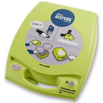 Zoll AED Plus Automated External Defibrillator Trainer2