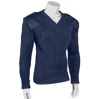 Cobmex V-Neck Rib Commando Sweater