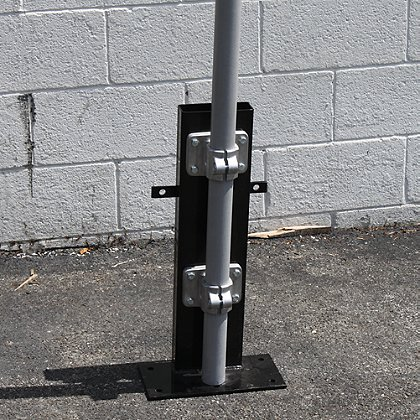 812 Illumination Machine Mount  w/13' Telescoping Mast