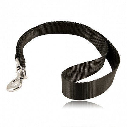 "Boston Leather Ballistic Weave 19"" K-9 Traffic Lead"