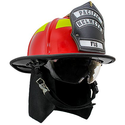 Pacific F18 Traditional Style Structural Fire Helmet