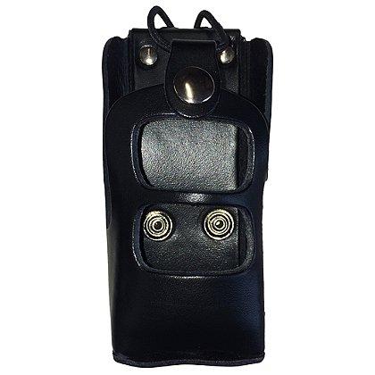 Leather Radio Case Fits EF Johnson Viking VP600 & VP900