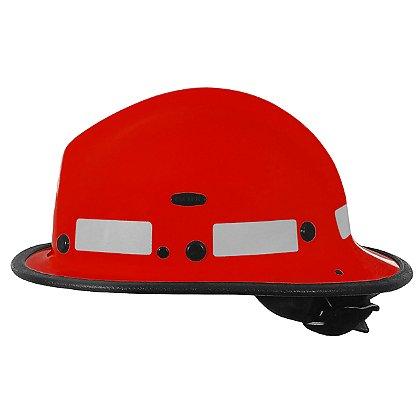 Pacific BR5 Kevlar Fire Helmet, Red