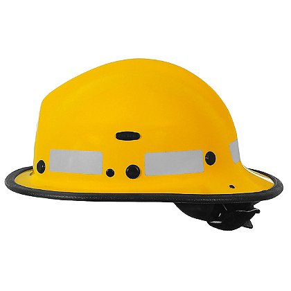 Pacific BR5 Kevlar Fire Helmet, Yellow