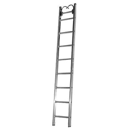 Duo-Safety 875-A Aluminum Roof Ladder, Pumper Style