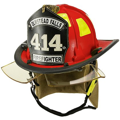 Cairns 880 Chicago Helmet, Red