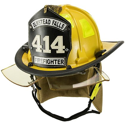 Cairns 880 Chicago Helmet, Yellow