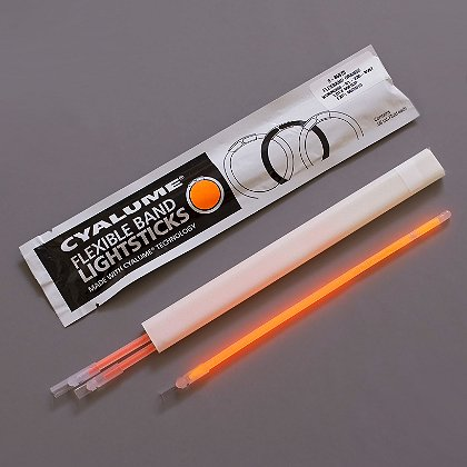 Cyalume Flex Bands Illuminating Emergency Marker, 4 Hour Duration