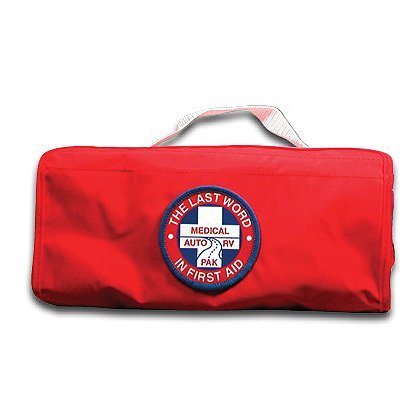 Fieldtex Auto/RV Pak First Aid Kit, Red