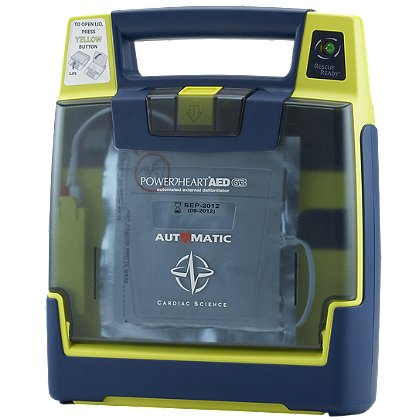 Cardiac Science Powerheart Fully Automatic AED G3 Plus
