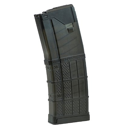Lancer Systems L5 Advanced Warfighter Magazine, 5.56x45mm NATO Translucent