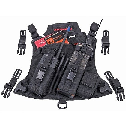 Crew Boss Crush Pack Double Radio Chest Harness