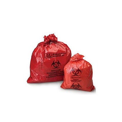 Medical Action Industries Action Bag Biohazard Waste Bags