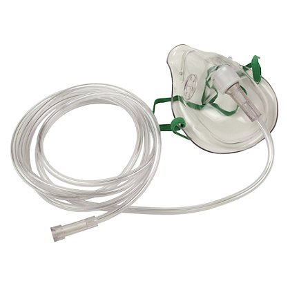 B&F Medical Simple Oxygen Mask
