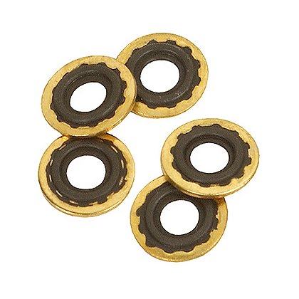 B&F Medical Brass & Rubber Oxygen Washers